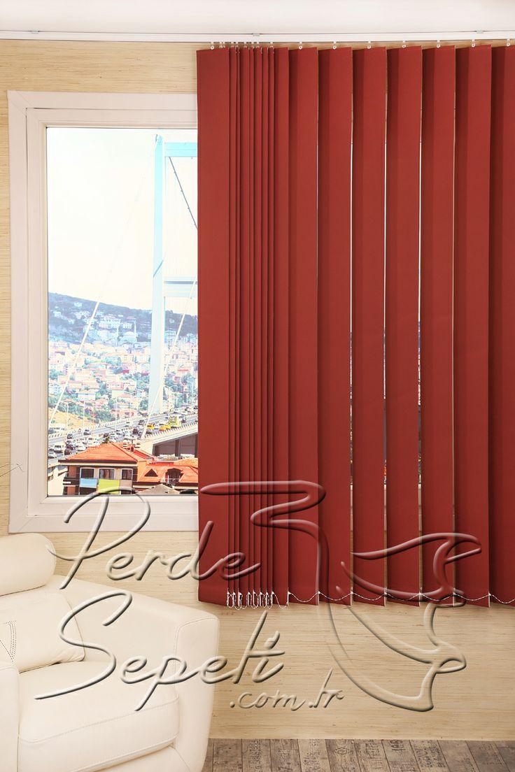 Kırmızı Dikey Kumaş Perde 127mm http://www.perdesepeti.com.tr/dikey_kumas_perde/kirmizi-dikey-kumas-perde