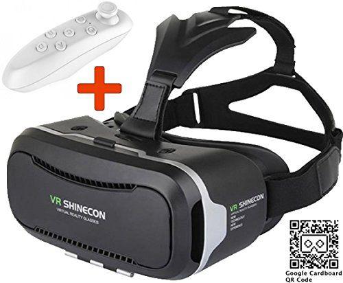 VR (Realidad Virtual)-PRIMUS Shinecon 2.0 + Control remoto Bluetooth - Gafas de Realidad Virtual VR (Realidad Virtual) - https://realidadvirtual360vr.com/producto/vr-primus-shinecon-2-0-mando-a-distancia-bluetooth-gafas-de-realidad-virtual-vr-con-remoto-controlador-para-smartphones-android-y-ios-como-iphone-samsung-htc-lg-huawei-motorola-oneplus-zte-y-muchos-ms/ #RealidadVirtual #VirtualReaity #VR #360 #RealidadVirtualInmersiva
