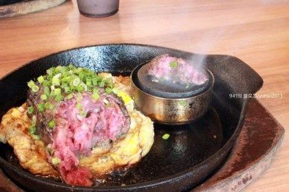 후쿠오카맛집)하카타역 키와미야 함바그 : 네이버 블로그