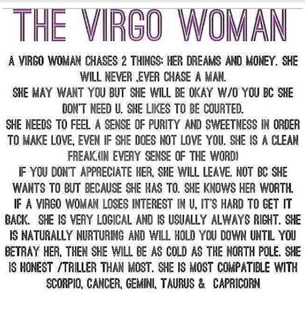Virgo Personality Quotes. QuotesGram