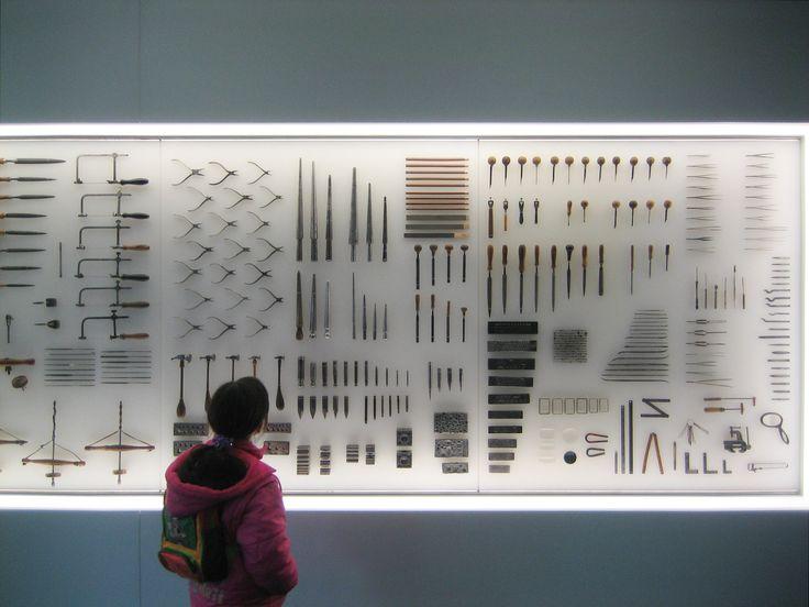 Goldsmiths tools, PforzheimJewellery Museum