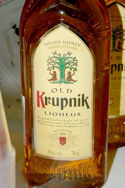 Krupnik - Polish honey spice liqueur.