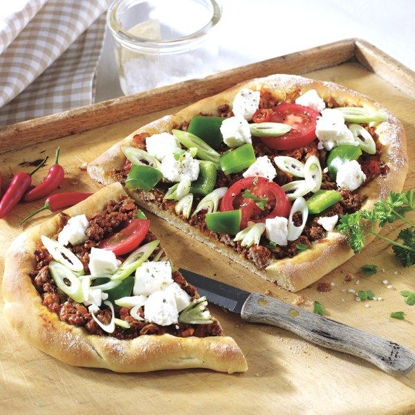 Trakteer jezelf vanavond op turkse pizza met fetakaas #WeightWatchers #WWrecept