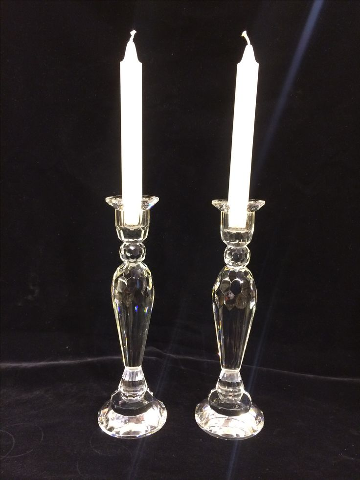 Kristal cam çift şamdan 💫 📲 05321721093