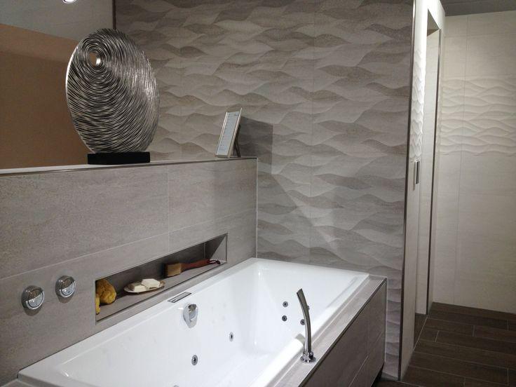 porcelanosa venis wandfliesen in steinoptik und wellenstruktur wandfliesen porcelanosa. Black Bedroom Furniture Sets. Home Design Ideas