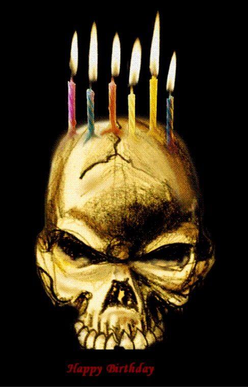 Страшные картинки на день рождения