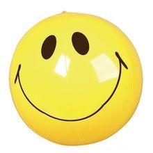 """Cara sonriente playa bolas 16 """"/36/'' 48 ''fiesta en la piscina de bolas inflables pelotas de playa para la promoción"""