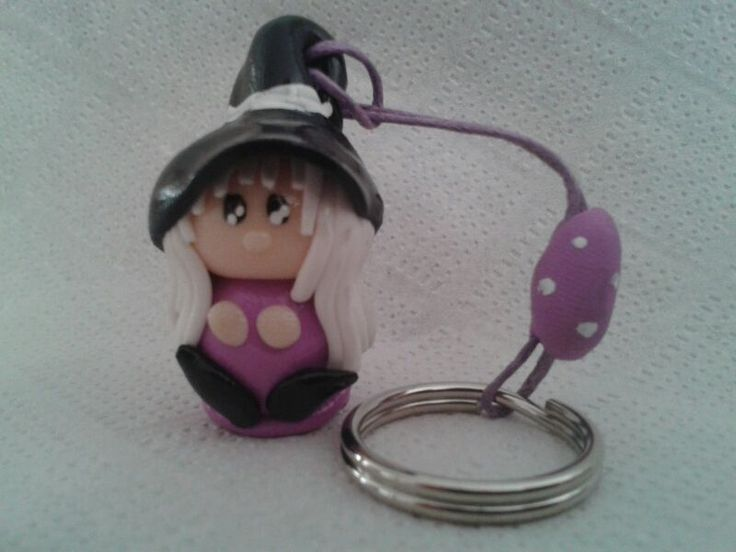 Bruja SanJuanera color Violeta. http://birlocha.blogspot.com.es/