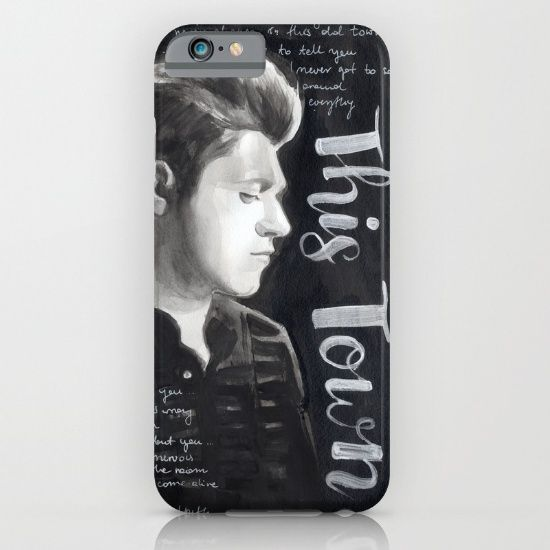 NIALL HORAN Black & White Studio iPhone & iPod Case