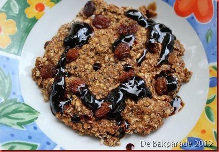 Appel-Rozijn Havermout Ontbijtkoek