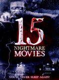 15 Nightmare Movies [3 Discs] [DVD]