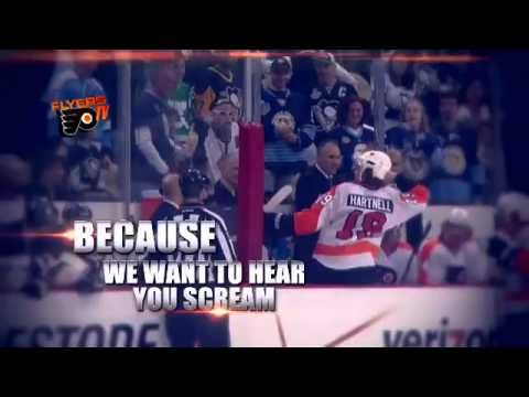 Philadelphia Flyers 2012 Playoff Opener #1 - Because It's The Cup