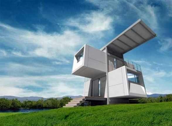 Geometrische Architectuur.