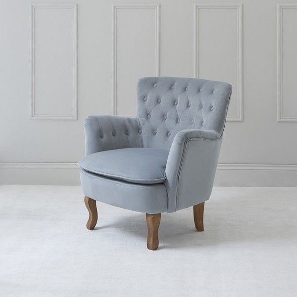 Best Roberta Tufted Chair Light Blue Grey Velvet Chairs 400 x 300