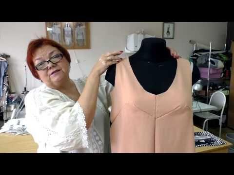 Выкройка летнего сарафана часть 2 Pattern summer sundress part 2 - YouTube
