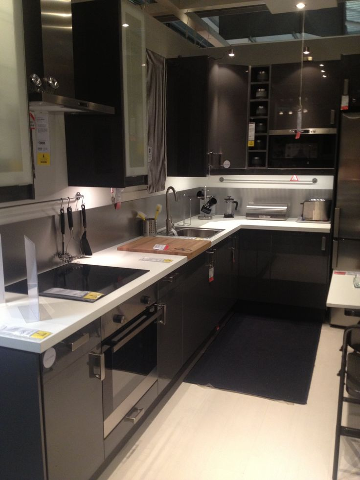 Ikea Grey Kitchen Island