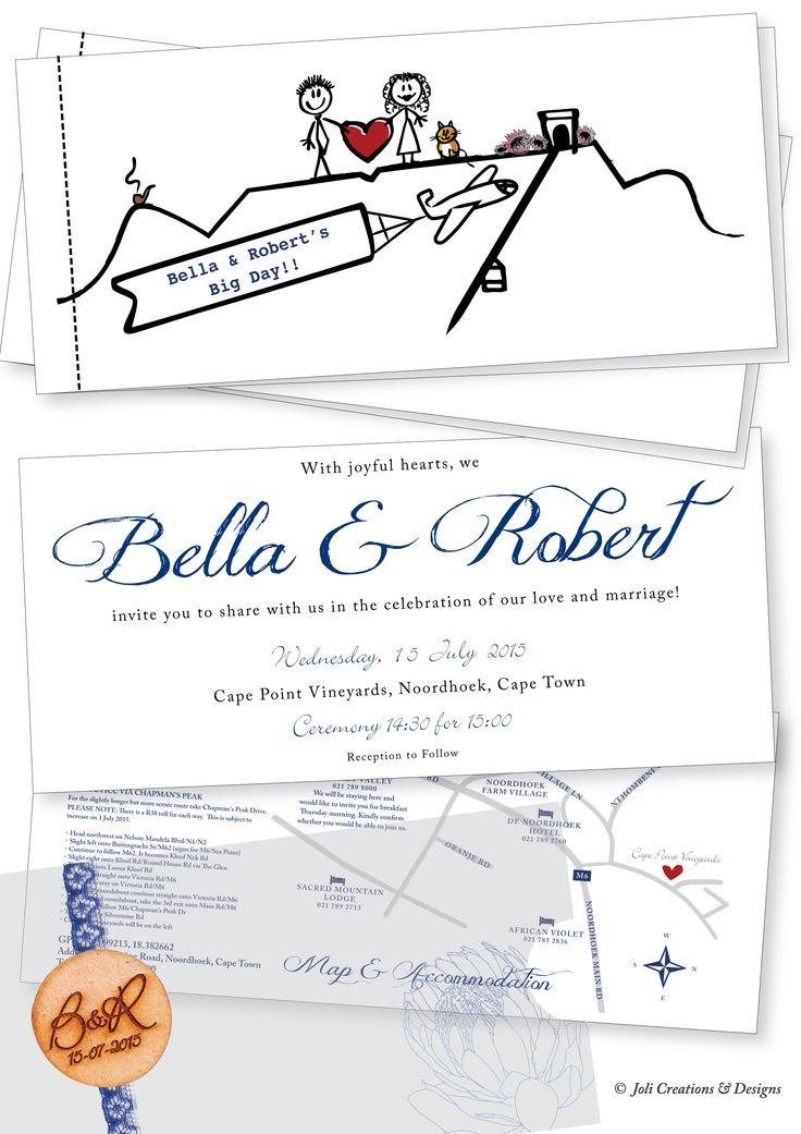 Custom designed illustration wedding invitations. #makeitamomenttoremember