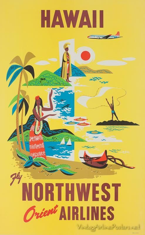 Northwest Airlines to Hawaii ~ Anonym