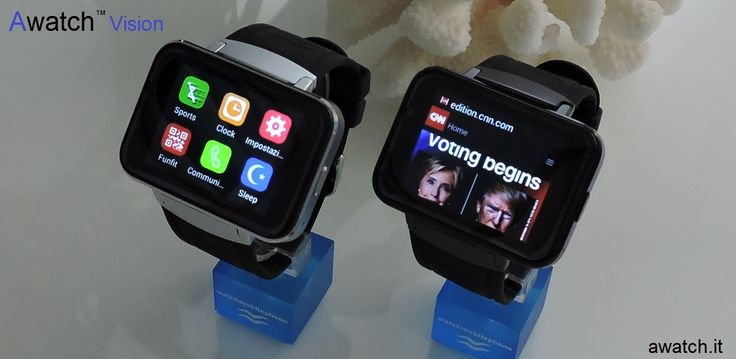 Awatch Vision 2 inch smartwatch phone 3G  http://www.awatch.it/awatch-vision.htm