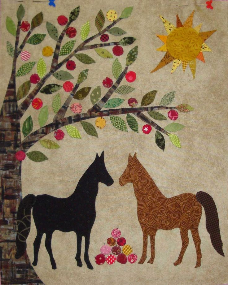 Quilting Horse Patterns : 17 Best images about Quilts-Caswell/Civil War Bride on Pinterest Civil wars, Folk art and ...
