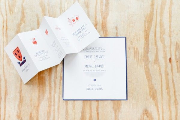 12 Unique Wedding Invitations We're Totally In Love With #Refinery29 - 3D anything always grabs our attention!