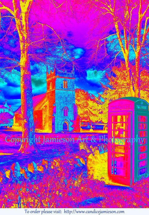 From Artist and Photographer Candice Jamieson's 'Colouring England' series.
