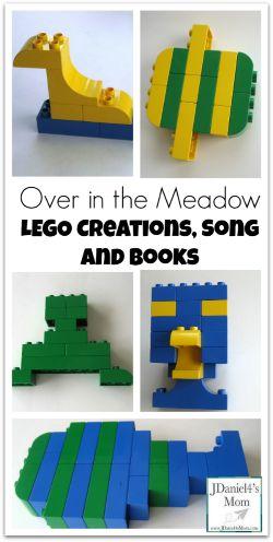 #LEGO #Duplo #Preschool Activities with Books