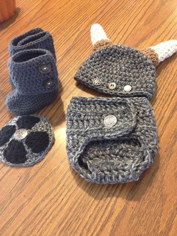Costume de Viking de bébé par LoveSpunCreations sur Etsy