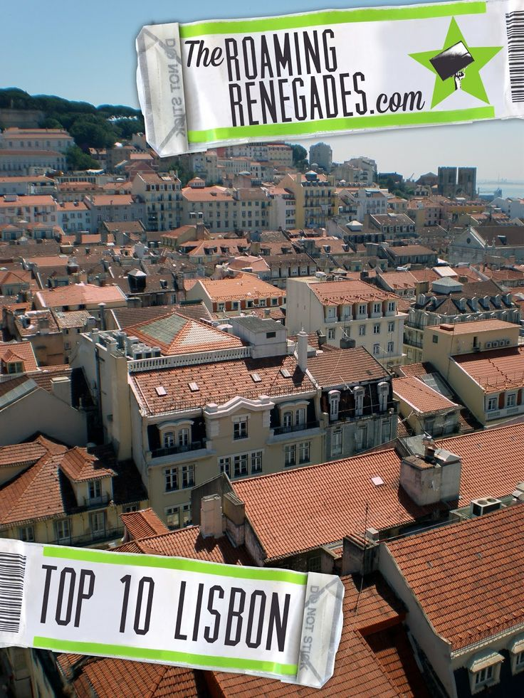 Map Of Spain Portugal%0A Top    to do in spectacular LISBON  Portugal   The Roaming Renegades