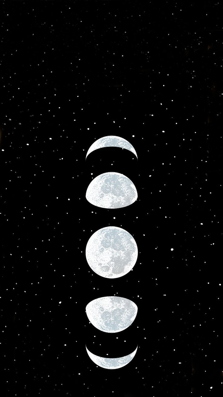 Wallpaper Moon By Gocase Fondos Gocase Moon Wallpaper Black Phone Wallpaper Black Wallpaper Galaxy Wallpaper