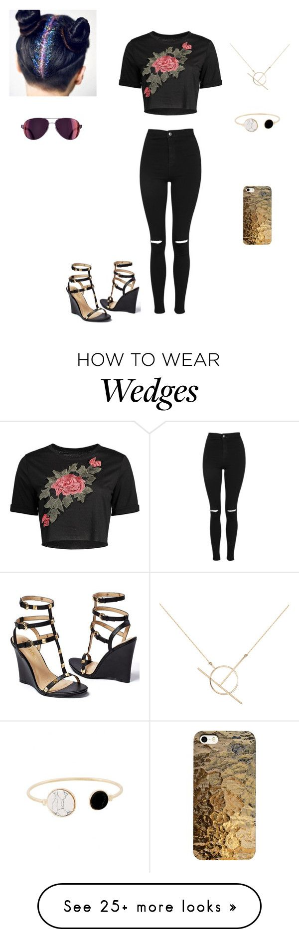 """Tuesday 27th June, 2017."" by jalissaj on Polyvore featuring Venus, Topshop and A Weathered Penny"