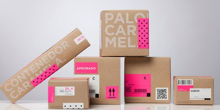 #houseofpackaging | Caramela Chocolate Boutique Packaging from Anagrama