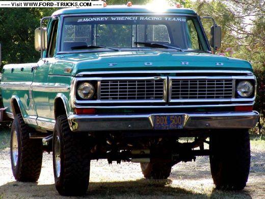 1970 Ford F250 4x4 - The Work Beast