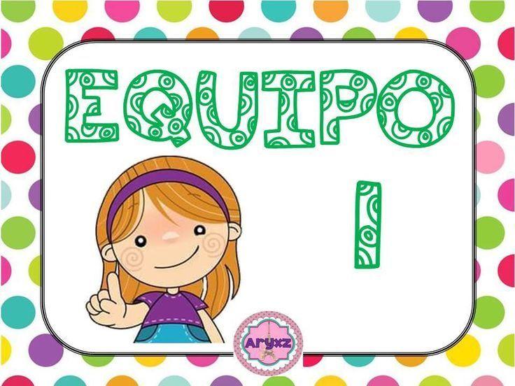Organiza tu clase en cooperativo en infantil y primaria con estos dibujitos