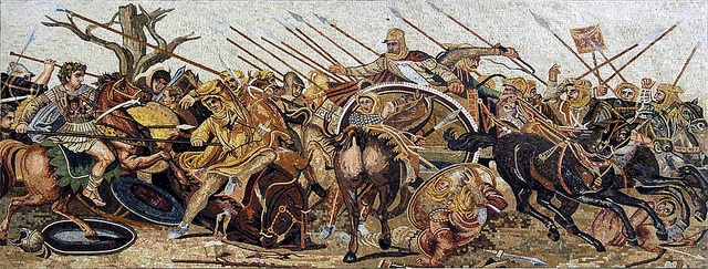 Alexander's Battle of Issus - History of Macedonia the ancient kingdom of Greece   #History of #Macedonia the #ancient kingdom of #Greece #Euphusus #Hellenism