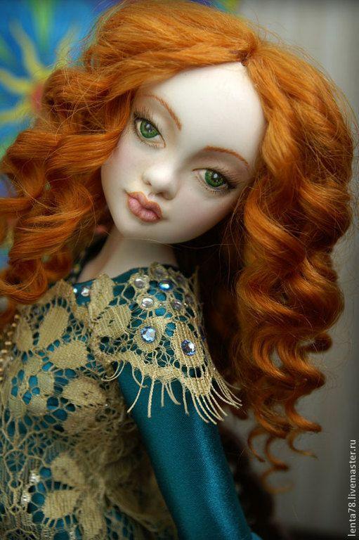Купить Шарнирная кукла из холодного фарфора. Хасеки Хюррем Султан - хасеки хюррем султан, хюррем