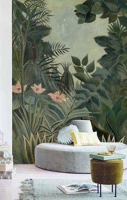 Zelfklevend Behang Kopen.Zelfklevend Behang Jungle 250x250 Kleurenpalet Kleuren Wanden