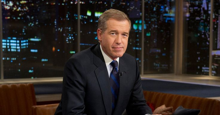 THE NEW YORK TIMES (February 10, 2015) ~ Brian Williams Suspended From NBC For 6 Months Without Pay. [Click for article]