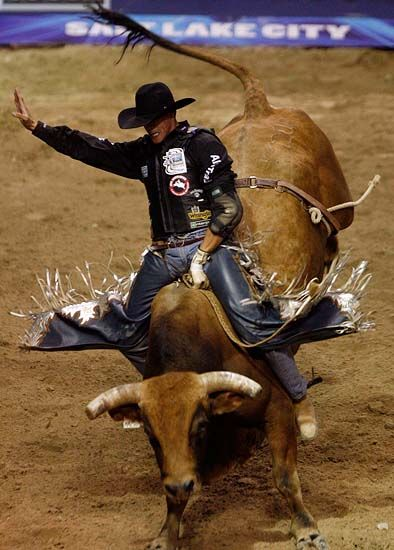 Bull riding, my fave sport to watch!