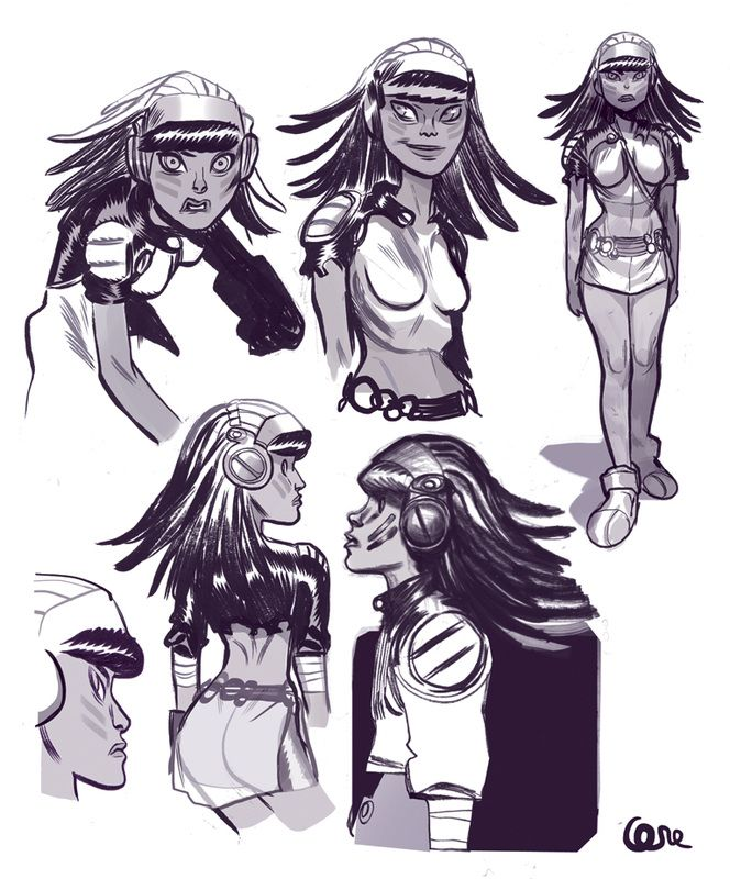 Lorenzo di Felici - Character Design Page