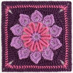 crochet granny square pattern – Google Search | Look around!