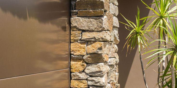 Mica Quartz Wall Cladding loose #wallcladding #stonework #Northryde #featurewall #facade #fireplaces #retainingwalls