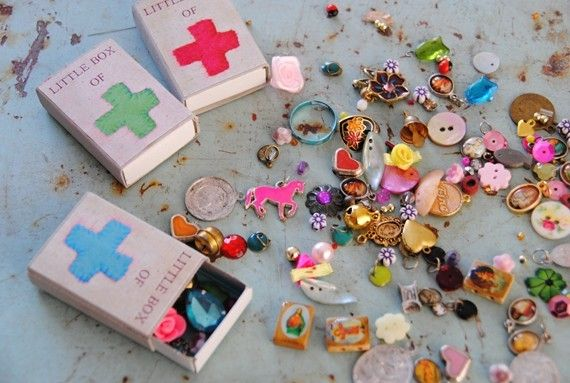 Adapt and make for creative therapy...little box of positivity by alltheluckintheworld on Etsy