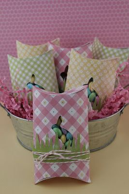 Adorable Spring and Easter packaging idea!