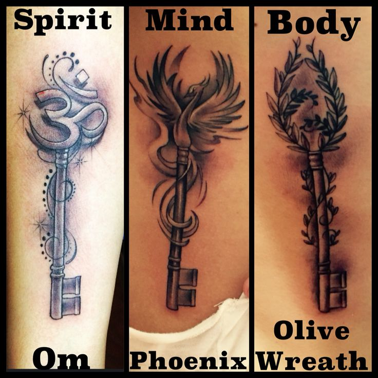 best friend or soul sisters tattoo idea same key but different symbol on top that represents. Black Bedroom Furniture Sets. Home Design Ideas