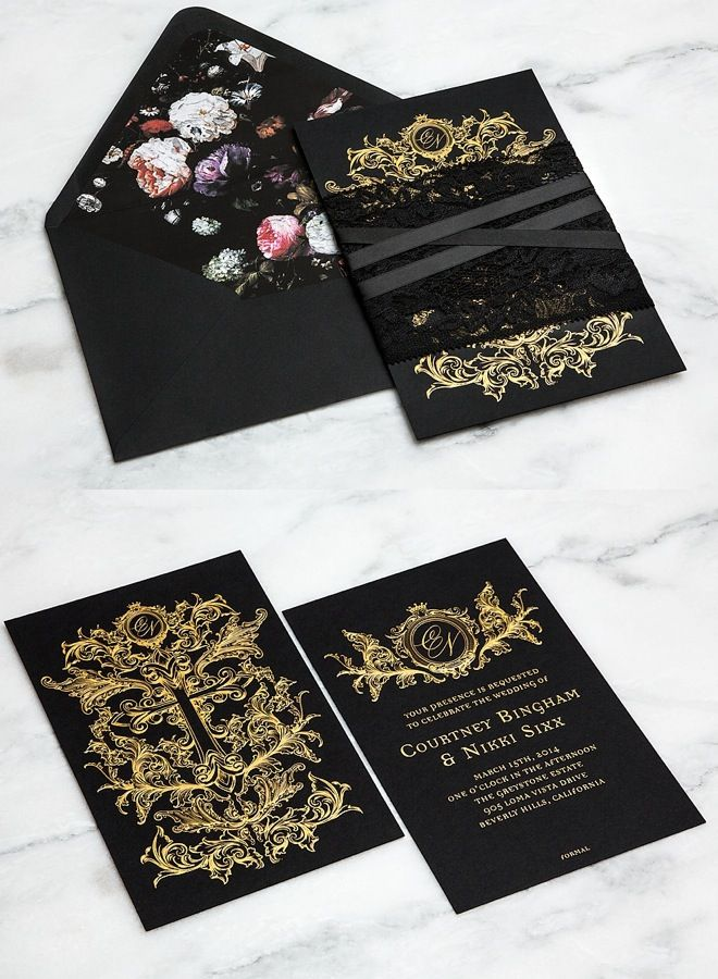 124 best Wedding Invitation \ Written Things images on Pinterest - formal invitation design inspiration