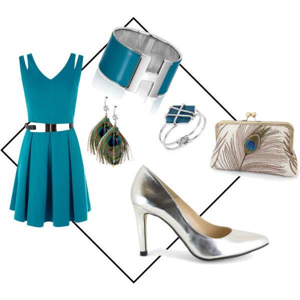 """""""Plumas de fiesta"""" by www.2feet-online.com, outfit de moda con zapatos hechos en España, made in Spain shoes."""
