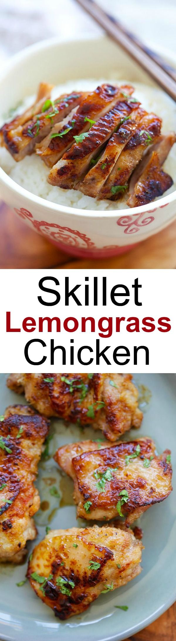 Skillet Lemongrass Chicken from rasamalaysia.com