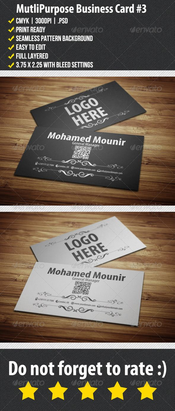18 best Business Card Templates images on Pinterest | Business ...
