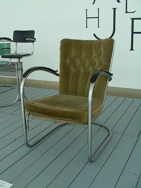 Gispen stoel. Art deco (1920 - 1939).